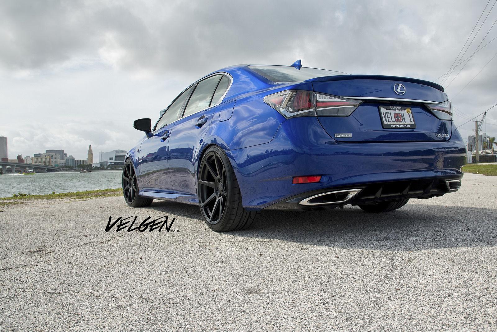 2016 Lexus GS 350 | 2016 Lexus GS350 FSport on Velgen Wheels VMB8