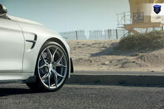 BMW M4 - White Front Wheel Shot