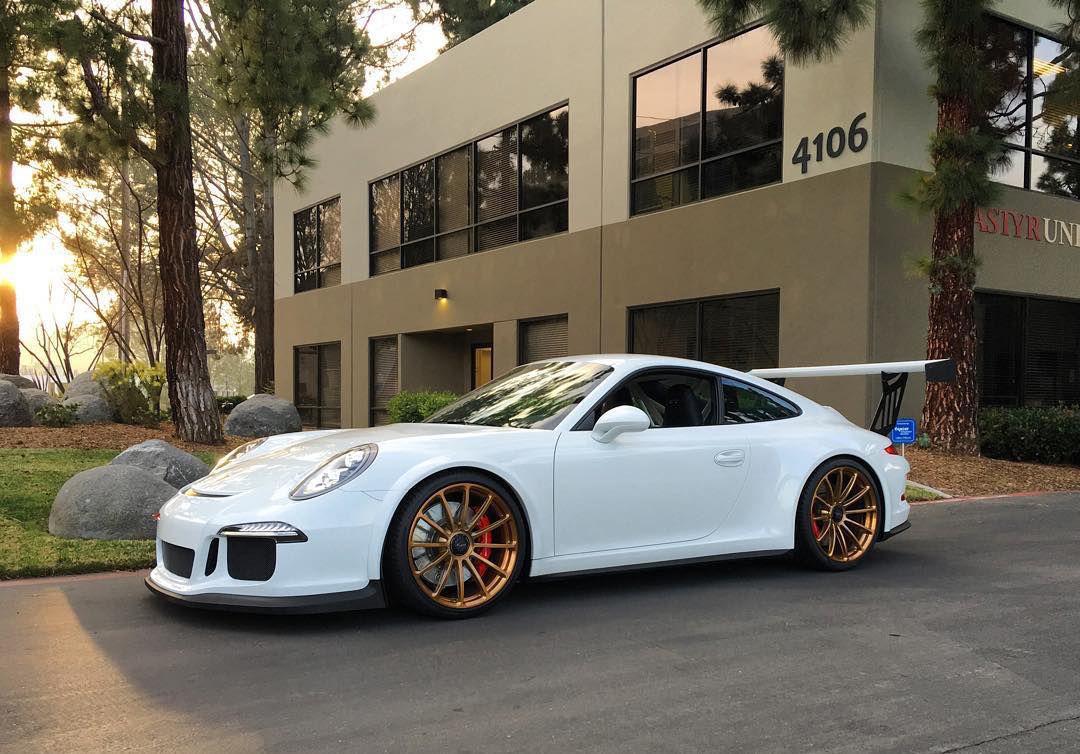 2016 Porsche 911 | Scottie B's Porsche 991 GT3 Super Street Cup on Forgeline One Piece Forged Monoblock GT1 Wheels