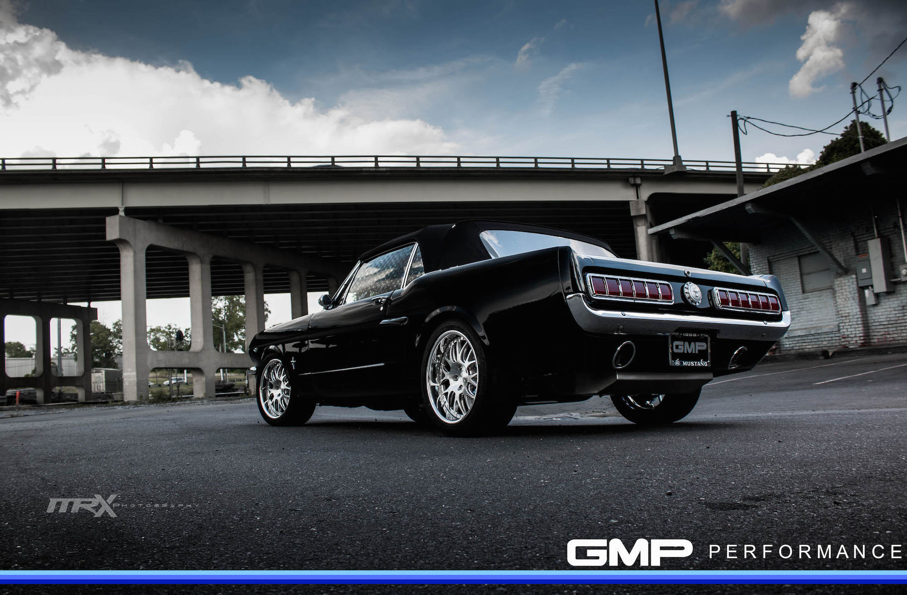 1966 Ford Mustang | Mustang on Forgeline GW3 Wheels