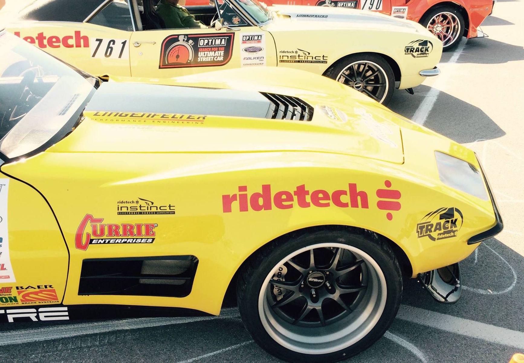 1972 Chevrolet Corvette Stingray | Chris Smith Wins GTV Class at USCA NCM in RideTech's 48 Hour Corvette on Forgeline GA3R Wheels