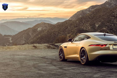 2016 Jaguar F-Type | Gold Jaguar F-Type - Canyon Views