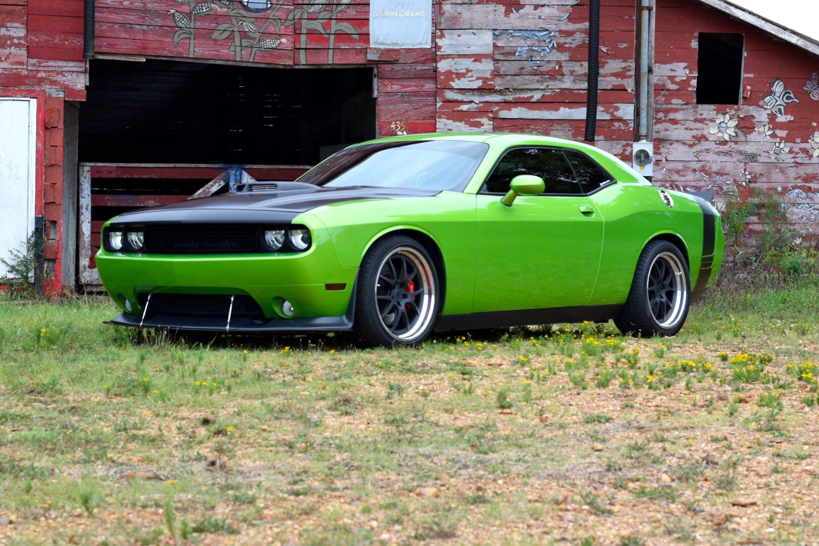 2011 Dodge Challenger | Adam Smith's Magnuson-Supercharged Dodge Challenger SRT on Forgeline GA3 Wheels