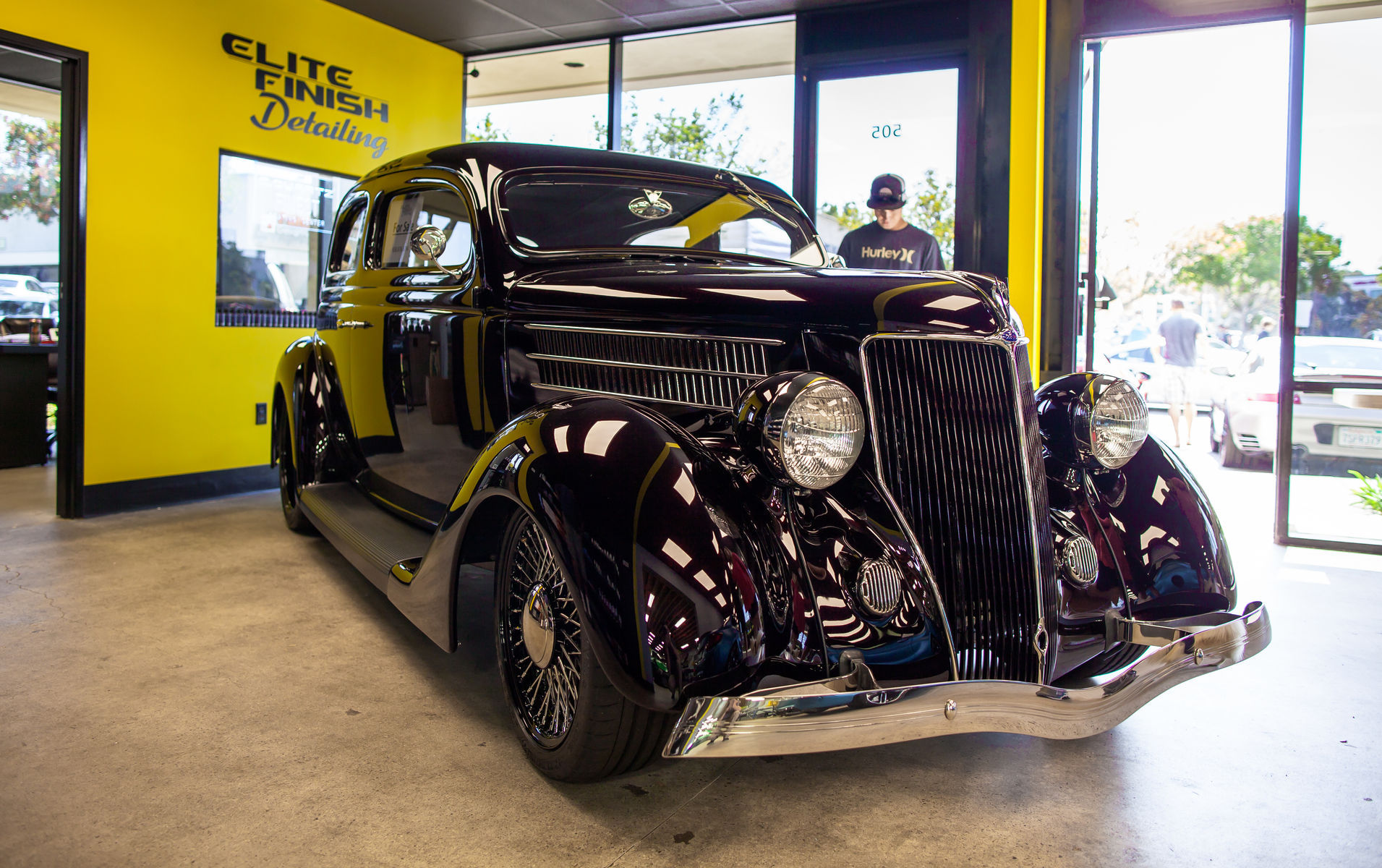 1938 Ford  | San Diego Cars & Coffee July 16th, 2016