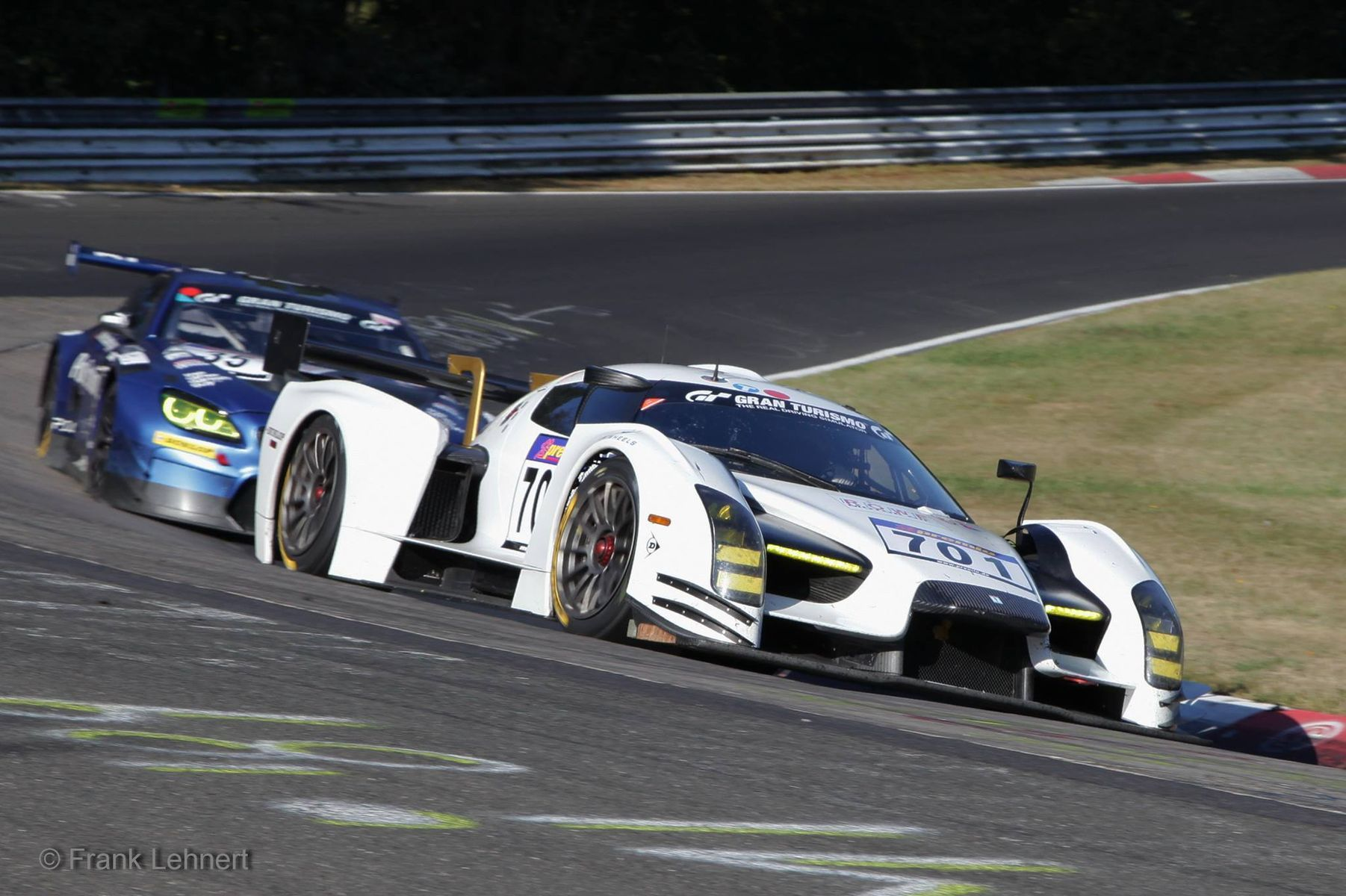 | Scuderia Cameron Glickenhaus SCG003 on Forgeline One Piece Forged Monoblock GTD1 Wheels 4th at Nurburgring VLN 8
