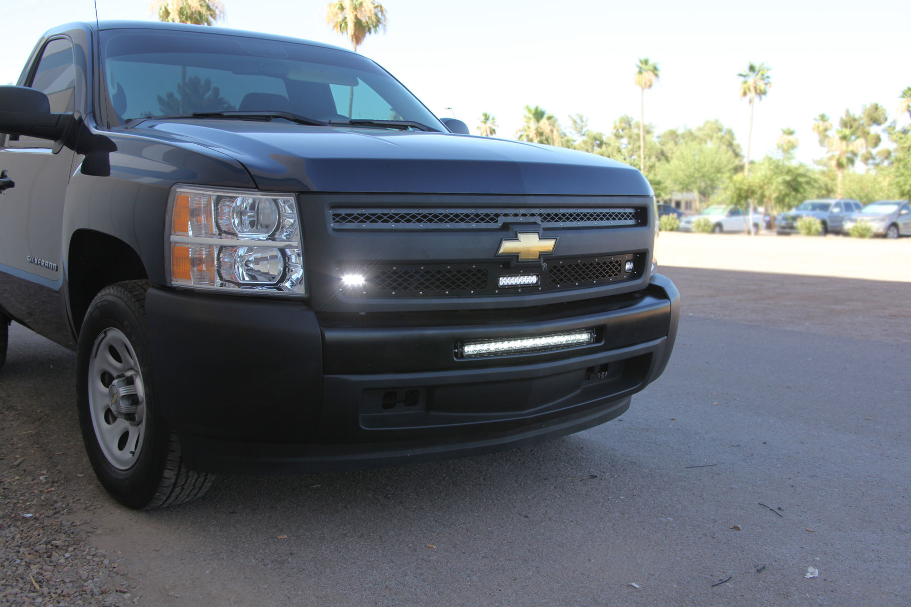 Chevrolet Silverado 1500 | 2011-2013 Chevrolet 1500 Rigid Industries LED Grille