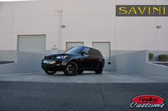 '13 Range Rover on Savini BM4's