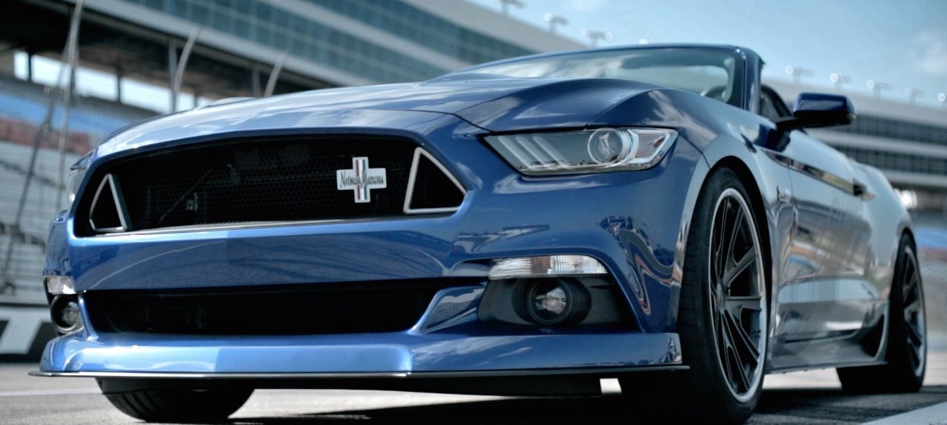 2015 Ford Mustang   Neiman Marcus Limited Edition Mustang Convertible on Grip Equipped Grudge Wheels