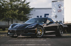 Gerry Corbo's C7.R C7 Corvette Z06 on Forgeline One Piece Forged Monoblock VX1 Wheels