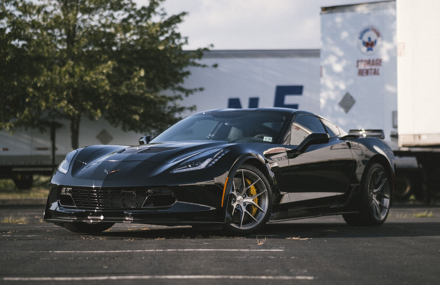 2016 Chevrolet Corvette Z06 | Gerry Corbo's C7.R C7 Corvette Z06 on Forgeline One Piece Forged Monoblock VX1 Wheels