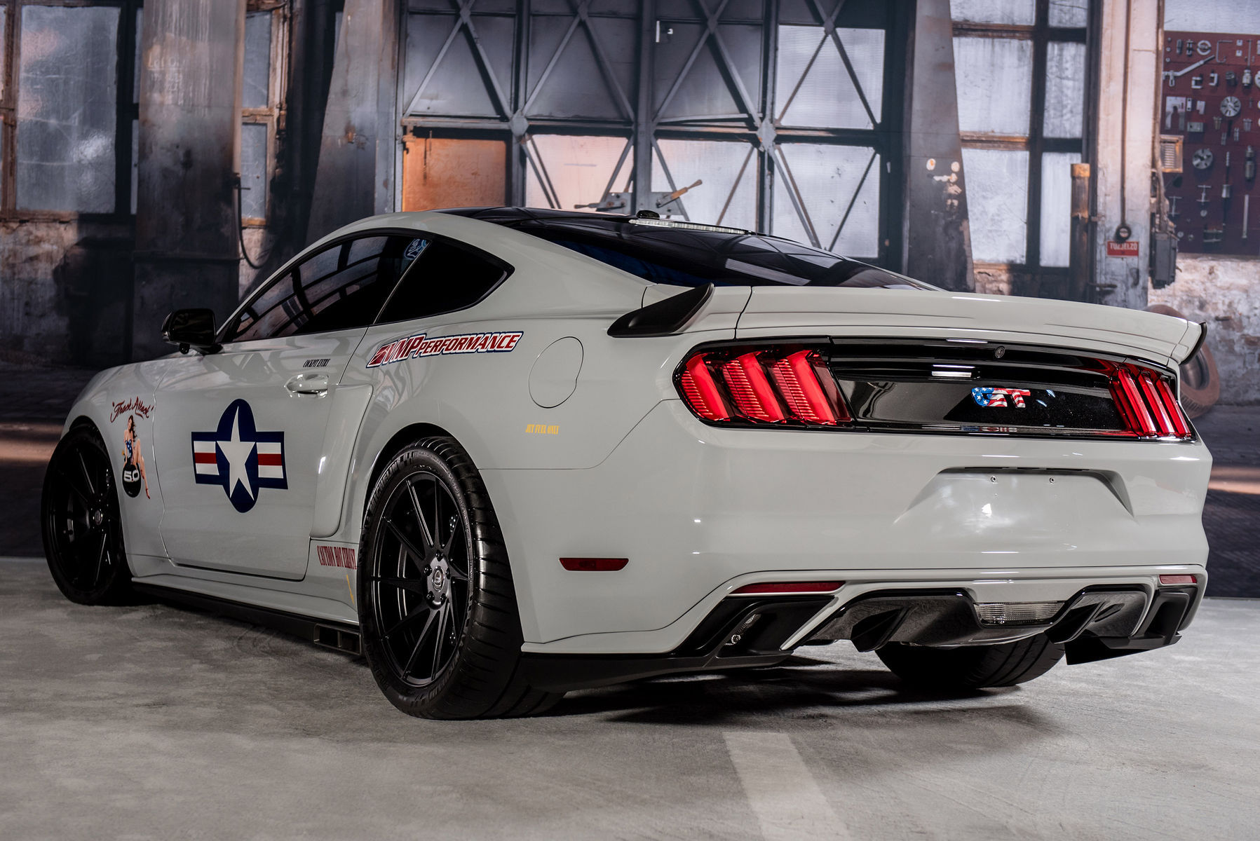 "2017 Ford Mustang Fastback ""Track Attack"" by VMP Performance Rear"