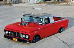 Custom Pro-Touring '63 Ford F-100