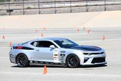 Jordan Priestley Wins Modern Muscle Class at NMCA West Autocross in the JDP Motorsports 6th Gen Camaro on Forgeline One Piece Forged Monoblock GA1R Wheels