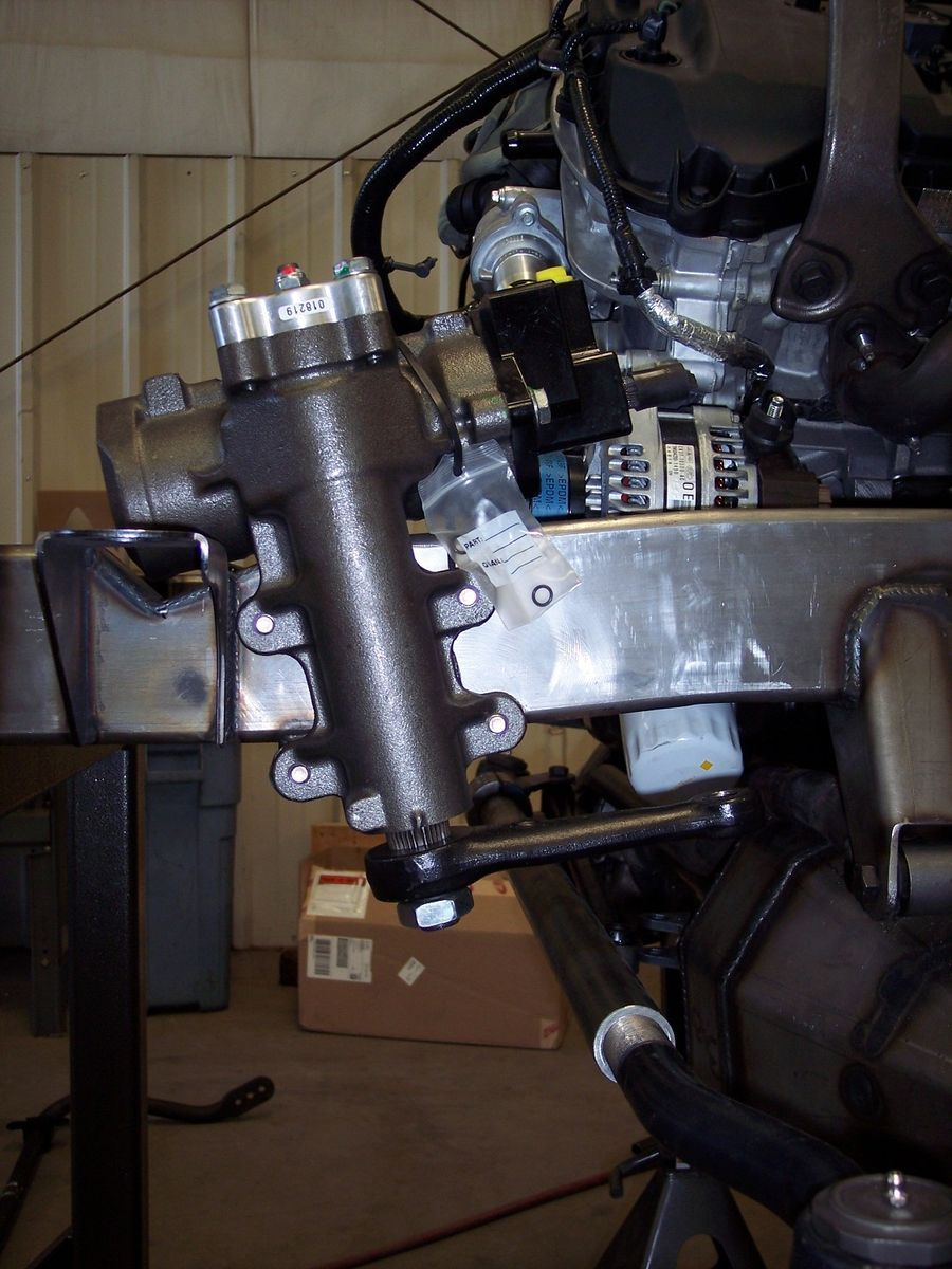 1968 Ford Bronco   Steering