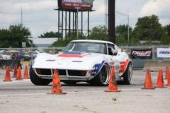 Ryan Mathews Wins NSRA Nationals Autocross in the Detroit Speed C3 Corvette on Forgeline GA3 Wheels