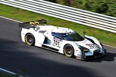 Scuderia Cameron Glickenhaus SCG003 on Forgeline One Piece Forged Monoblock GTD1 Wheels 4th at Nurburgring VLN 8