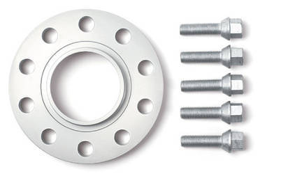 H&R TRAK+® Wheel Spacers 5mm front, 10mm rear