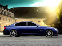 BMW 7-series on Lexani R-Fourteen's
