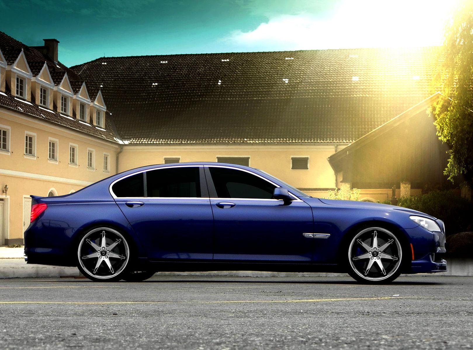 2012 BMW 7 Series | BMW 7-series on Lexani R-Fourteen's