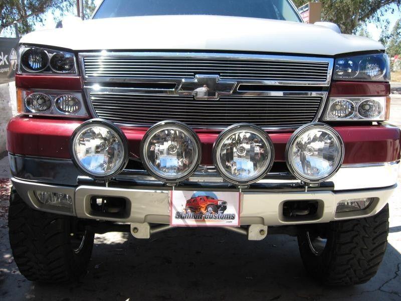 Chevrolet C/K 1500 Series | N-FAB Light Bar (With Tabs)