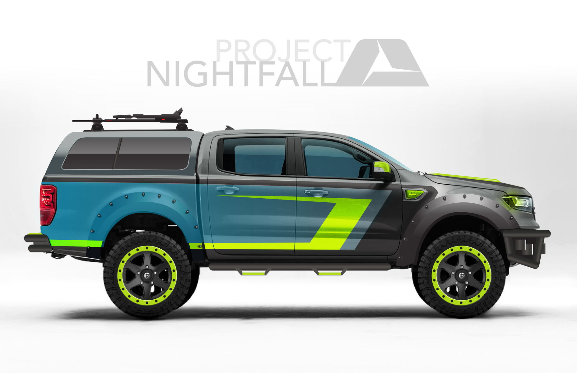 2019 Ford Ranger Lariat Supercrew By A R E Accessories