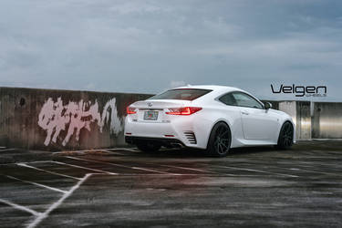 Lexus RC350 F Sport on Velgen Wheels VMB9