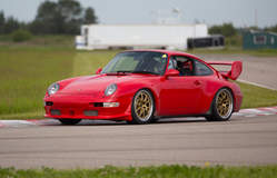 Steven Tory's Porsche 993 RS 4.0 Tribute on Forgeline GA3R Wheels