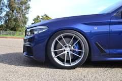 Dinan's S1 BMW M550i xDrive on Forgeline One Piece Forged Monoblock AR1 Wheels