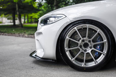 2016 BMW M2 | Taylor McGohan's BMW F87 M2 on Forgeline One Piece Forged Monoblock GTD1 5-Lug Wheels