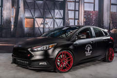 2016 Ford Focus ST By Blood & Grease - Final Build shot on site at #FordSEMA