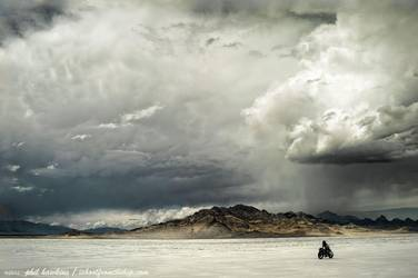 Storm On The Salt Flats