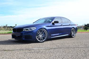 2017 BMW M5 | Dinan's S1 BMW M550i xDrive on Forgeline One Piece Forged Monoblock AR1 Wheels