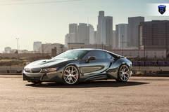 BMW i8 Charcoal - Side