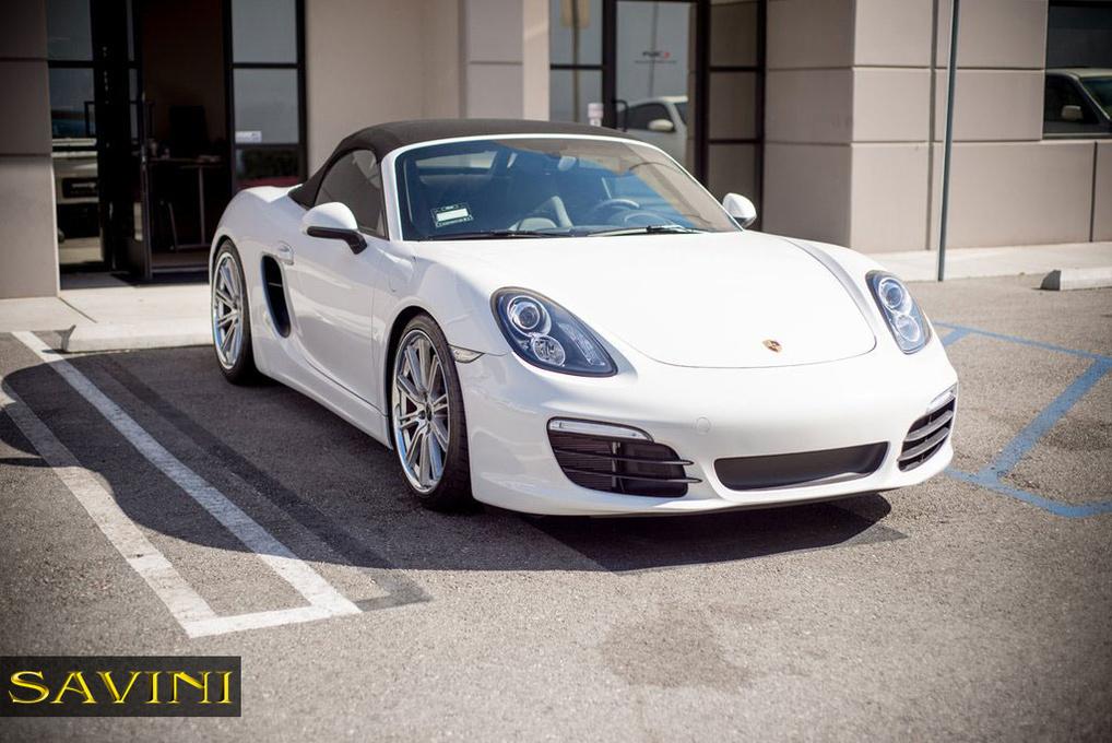 2012 Porsche Boxster | '12 Porsche Boxster on Savini BM3's