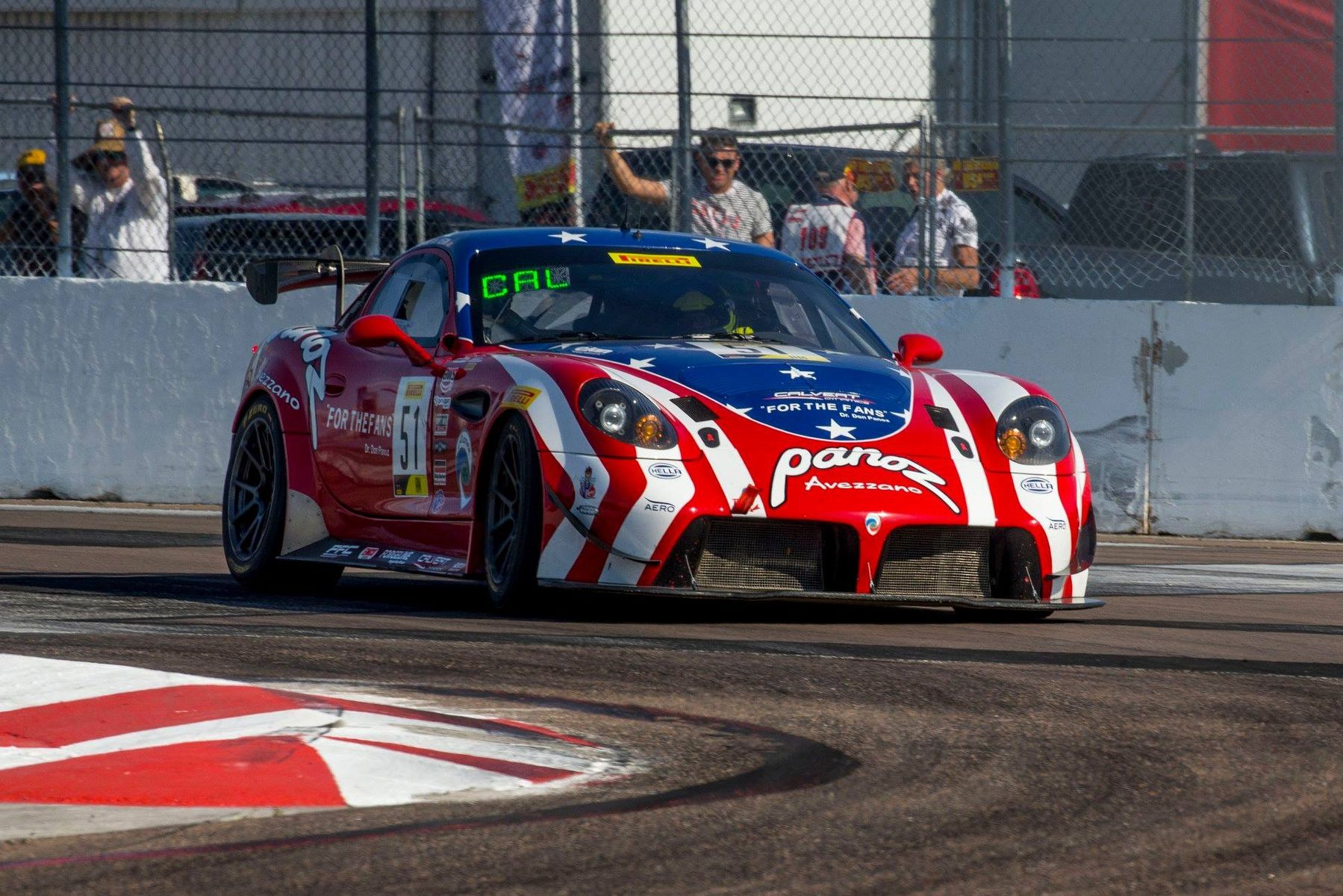 2019 Panoz  | Forgeline Teams Dominate GT4 at GP St. Pete