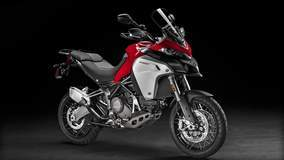Multistrada 1200 Enduro - Side Angle