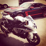 S1000RR and BOSS 302