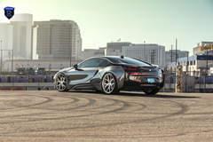BMW i8 Charcoal - City Photoshoot