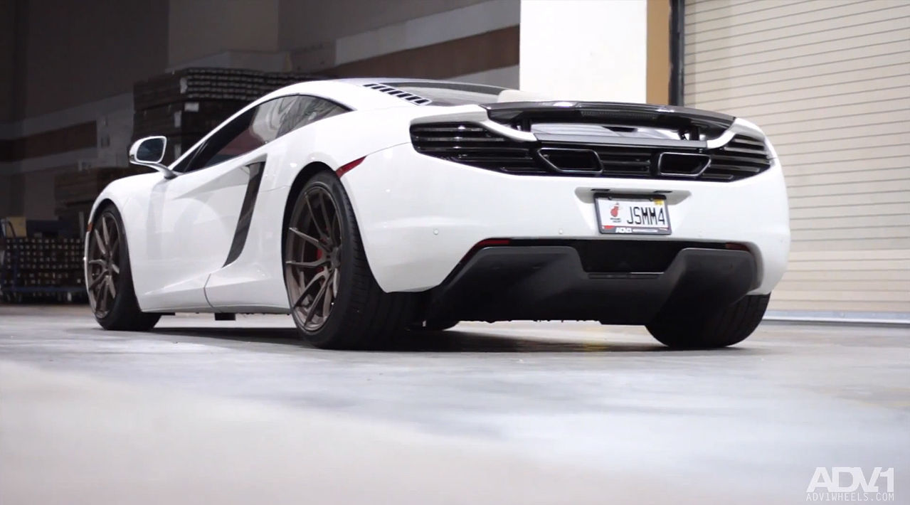 2013 McLaren MP4-12C | ADV.1 Wheels McLaren MP4 Project - The Beginning