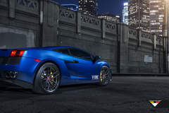 2006 Lamborghini Gallardo on Vorsteiner V-FF 105 Wheels - City Lights