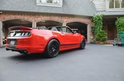 Mustang GT500 on Forgeline DE3C Wheels
