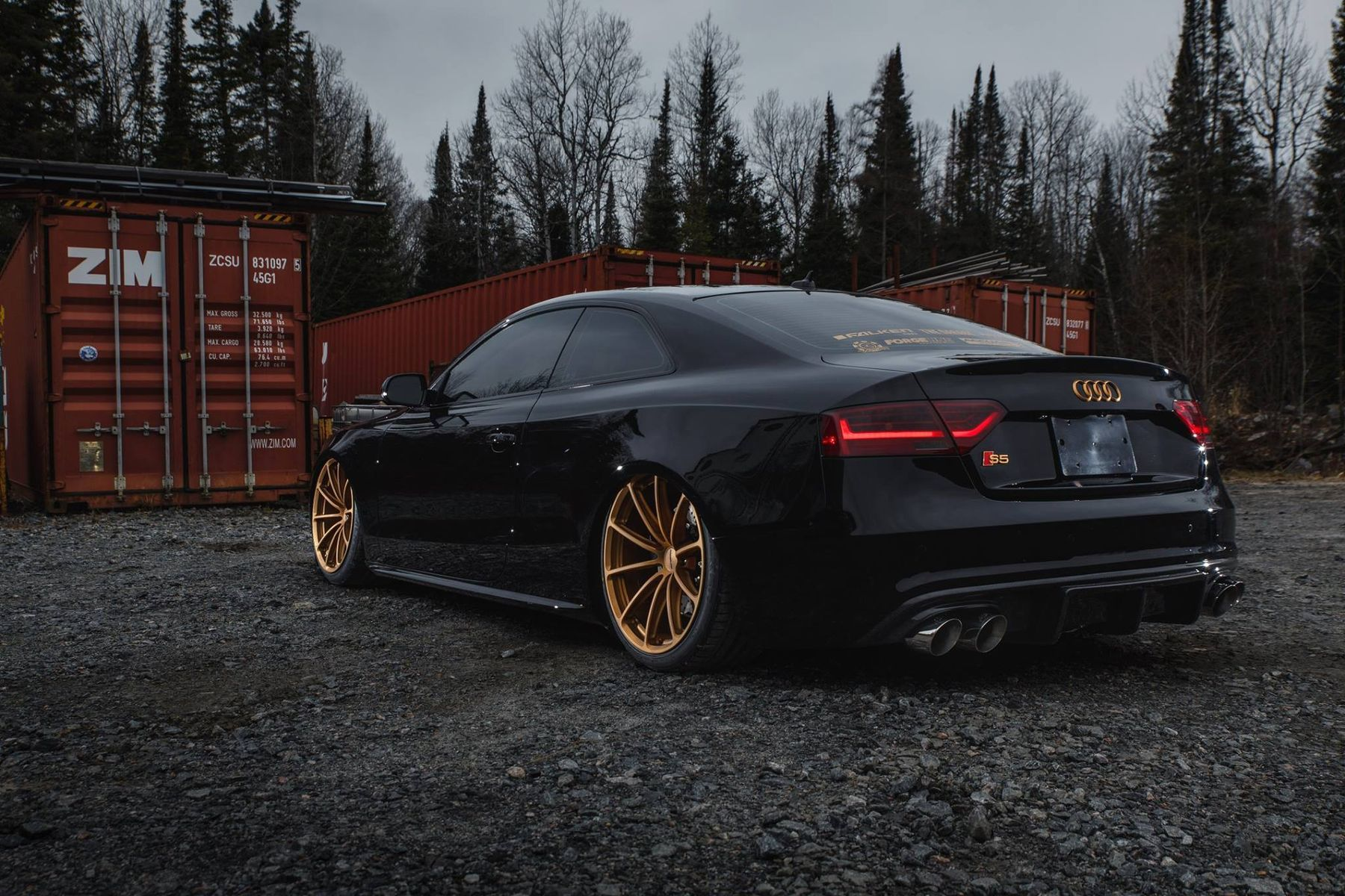 2016 Audi S5 | Prostate Cancer Canada's Bagged Audi S5 Coupe on Forgeline One Piece Forged Monoblock GT1 5-Lug Wheels