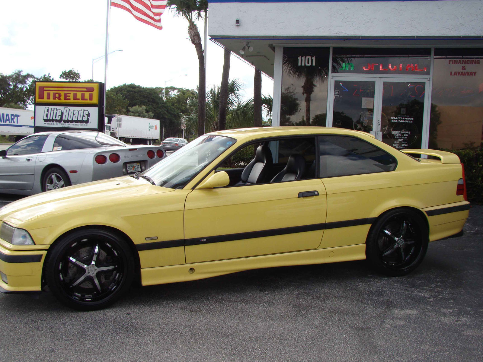 1996 BMW M3 | Canary Yellow M3