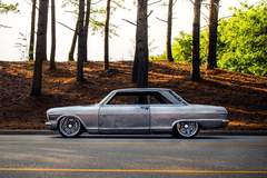 Gordon McGilton's Detroit Speed-Built 'Angry Nova' 1963 Chevy II on Forgeline Rodster Wheels