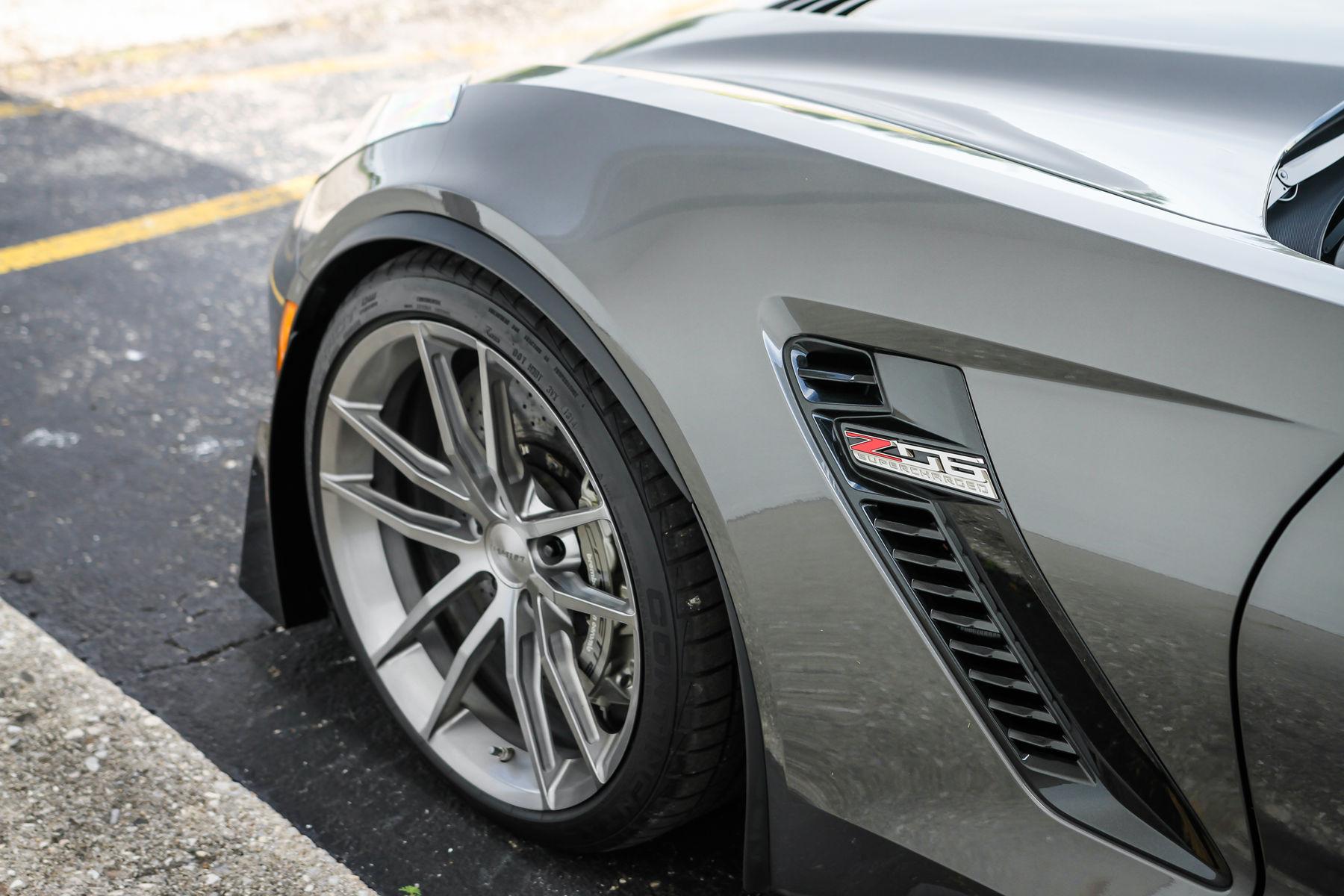 2015 Chevrolet Corvette Z06 | Forgeline C7 Corvette Z06 - View Of The AR1 Wheels