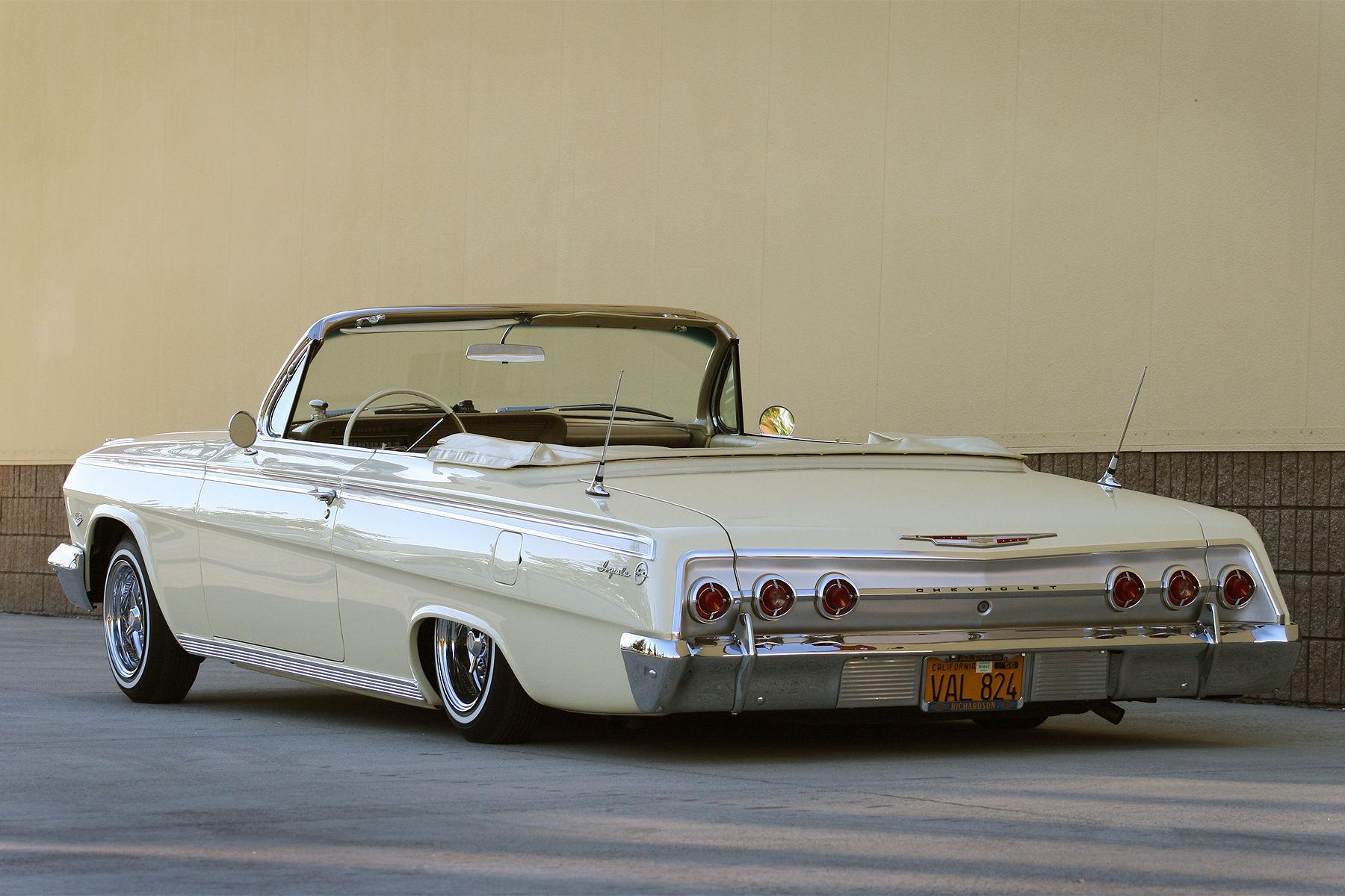 1962 Chevrolet Impala | Big Watcha's 1962 Impala Convertible