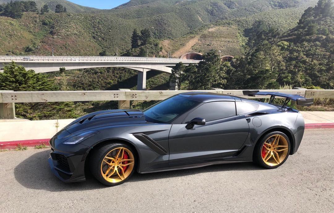 2018 Chevrolet Corvette ZR1 | Juan Concepcion's Corvette ZR1 on Forgeline One Piece Forged Monoblock EX1 Wheels