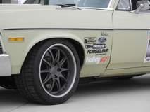 Dan Ballard's 1972 Chevy Nova on Forgeline GZ3 Wheels