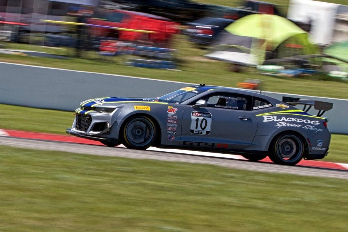 2017 Chevrolet Camaro | Forgeline Teams on the World Challenge GTS Podium at CTMP
