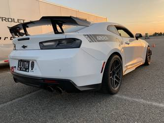 2018 Chevrolet Camaro | John Grow's JDP-Tuned Camaro ZL1 on Forgeline One Piece Forged Monoblock ZO1R Wheels